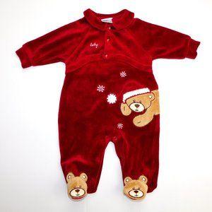 Baby Gund 3-6 Months Christmas Bear Sleeper